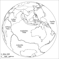 7 Continents Map Continents Coloring Pages