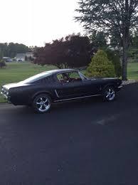 Black Fastback Mustang 1965 Mustang Fastback 331 Stroker 400hp 4 Speed Hurst Shifter A
