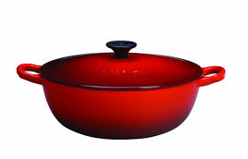 amazon com le creuset 2 3 4 quart soup pot red kitchen u0026 dining