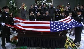 Flag Folding Ceremony Georgie U0027s Ghost Comforts Maxie At Nathan U0027s Funeral Georgie U0027s