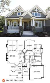 houses and floor plans craftsman plan 132 200 great bones could be changed to 2