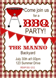 16 free printable cookout invitations template images free