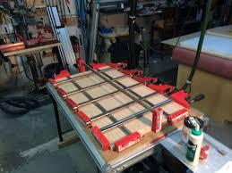 table top glue up edgebanding edgebanding and more edgebanding