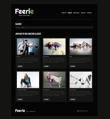 website template 45888 feerie design studio custom website