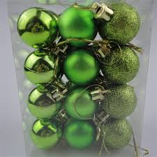 new chic baubles tree plain glitter decoration