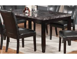 tahoe faux marble dining table tahoeg tb the brick dining