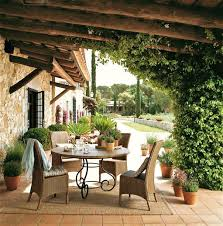 Outdoor Furniture In Spain - restored 17th century farmhouse in spain inspiring interiors