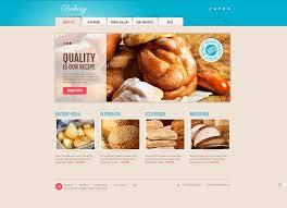 premium bakery wordpress themes templatemonster