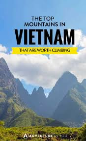 top mountains in vietnam that are worth climbing