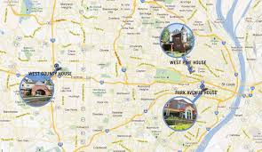 St Louis Mo Map Maps And Directions Ronald Mcdonald House Charities Of St Louis