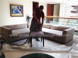 nettoyer canapé tissu c est du propre nettoyage de banquettes et chaises en tissus bureaux hotels