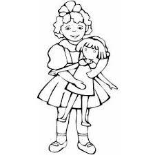 doll coloring sheet