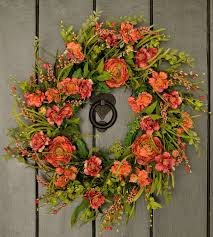 Spring Wreaths For Door by Wreaths Amazing Spring Wreath Outdoor Wreaths Spring Spring