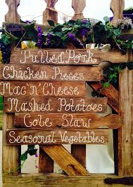 Fall Backyard Wedding Ideas Best 25 Fall Wedding Menu Ideas On Pinterest Fall Wedding Foods