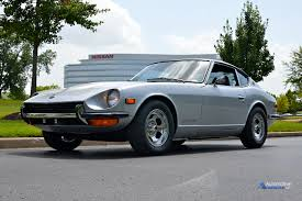 1972 nissan datsun 240z the 2015 murano journeys home to visit nissan u0027s heritage collection