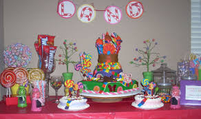 candyland birthday party ideas candy land party