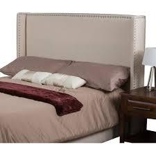 buy byron upholstered wingback headboard size king