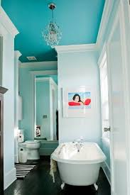 should i paint my ceiling white bathroom ideas color a glorious home bathroom proves to be the one