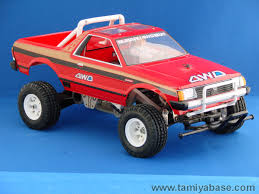 subaru brat 58038 tamiya model database tamiyabase com