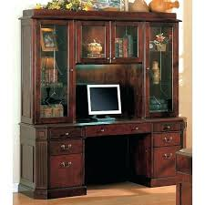 Computer Desk With Hutch Cherry Cherry Computer Desk With Hutch Cherry Desk With Hutch Cherry