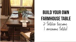 build your own farmhouse table diy farmhouse table knock it off the live well network