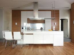 contemporary white kitchen designs modern white kitchen with wood island room image and wallper 2017