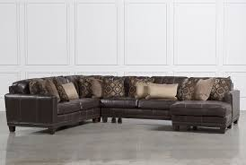 barnaby 4 piece sectional w raf chaise living spaces