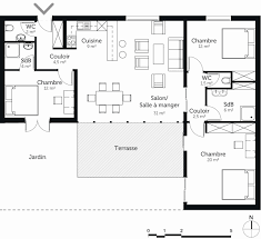 plan appartement 3 chambres logiciel plan appartement 3d plan maison 3 chambres chambre