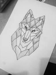 simple wolf tattoos