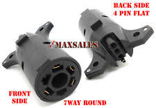 trailer light plug adapter 7 pin to 4 pin trailer adapter ebay