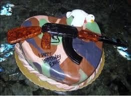 check out the trump kid u0027s psycho machine gun cake