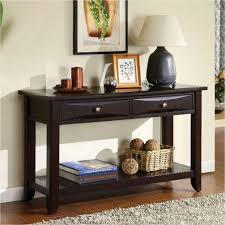 Furniture Of America Baldwin Espresso Storage Console Table - Baldwin furniture