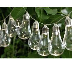 light bulb string lights buy home set of 20 solar powered bulb string lights white null