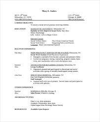 Facilitator Resume Sample by Sample Resume 34 Documents In Pdf Word