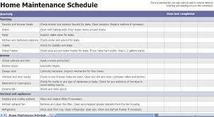 Maintenance Checklist Template Excel Home Maintenance Checklist Home Maintenance Template