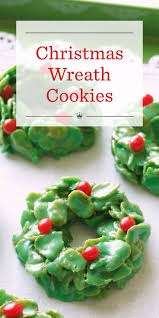 best 25 christmas wreath cookies ideas on pinterest no bake