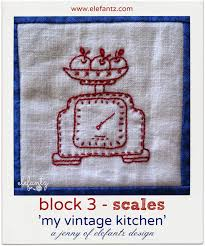 free kitchen embroidery designs block 3 vintage kitchen bom this a free nine month bom