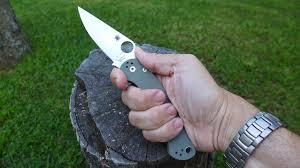 spyderco kitchen knives best u0027do it all u0027 pocket knife