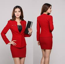 aliexpress com buy elegant red professional business women work