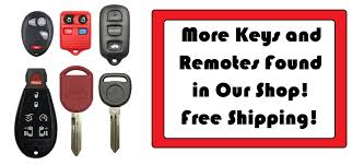2003 lexus es300 key fob battery new uncut ignition master key keyless entry remote fob transmitter