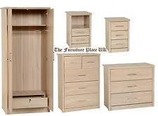 Oak Veneer Bedroom Furniture by Oak Bedroom Furniture Sets Ebay