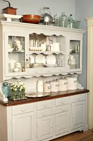 kitchen hutch furniture grey chalk paint on kitchen hutch tammy dammore