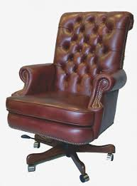Leather Tufted Chair Tufted Leather Executive Office Chair