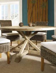 Round Oak Kitchen Table Kitchen Padmas Plantation Salvaged Wood Kitchen Table Set With
