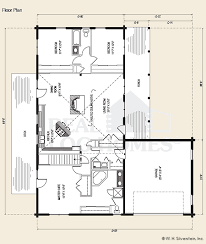log home floor plans with garage the cheyenne is a beautiful one story log home floor plan that