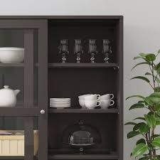 glass kitchen cabinets sliding doors havsta storage with sliding glass doors brown 47 5 8x18 1 2x83 1 2