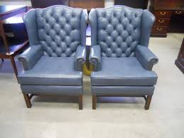 Queen Anne Wingback Chair O Queen Anne Leather Wingback Chair Surripui Net