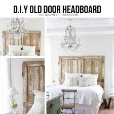 Diy Vintage Chandelier Enchanting Old Door Headboard 10 Diy Ideas To Give New Life To Old