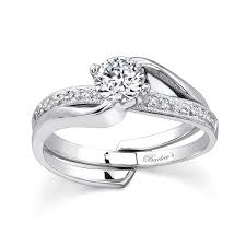 engagement rings sets barkev s white gold diamond engagement ring set 7345s barkev s