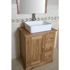 Oak Bathroom Vanity Units Mobel Light Oak Bathroom Vanity Cabinet With Storage Best Price